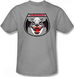 Image Closeup for Airwolf Patch T-Shirt