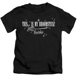 Image for Bewitched Kids T-Shirt - Broomstick