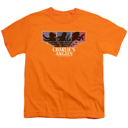 Image for Charlies Angels Youth T-Shirt - Tri-Color Angels