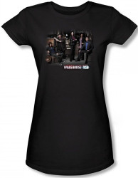 Image for Warehouse 13 Warehouse Cast Girls Shirt