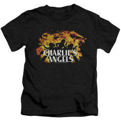 Image for Charlies Angels Kids T-Shirt - Fire