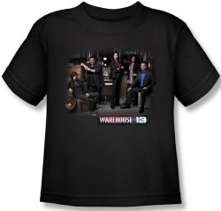 Image for Warehouse 13 Warehouse Cast Kids T-Shirt