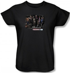 Image for Warehouse 13 Warehouse Cast Woman's T-Shirt