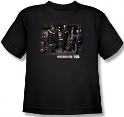 Image for Warehouse 13 Warehouse Cast Youth T-Shirt
