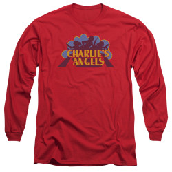 Image for Charlies Angels Long Sleeve Shirt - Faded Logo