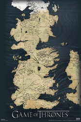 Image for Game of Thrones Poster - Map