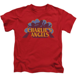 Image for Charlies Angels Kids T-Shirt - Faded Logo