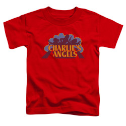 Image for Charlies Angels Toddler T-Shirt - Faded Logo