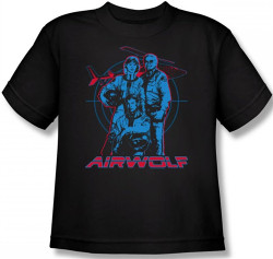 Image for Airwolf Graphic Youth T-Shirt