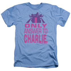 Image for Charlies Angels Heather T-Shirt - Answer