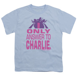 Image for Charlies Angels Youth T-Shirt - Answer