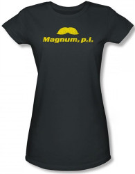 Image for Magnum PI the Stache Girls Shirt