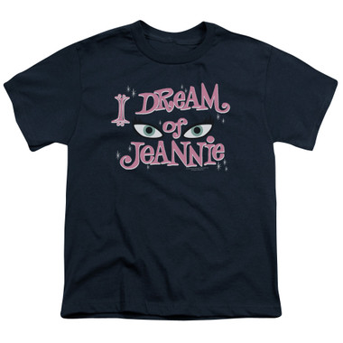 Image for I Dream of Jeannie Youth T-Shirt - Eyes