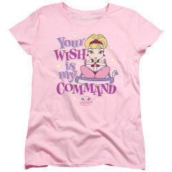 Image for I Dream of Jeannie Womans T-Shirt - Your Wish is My Command