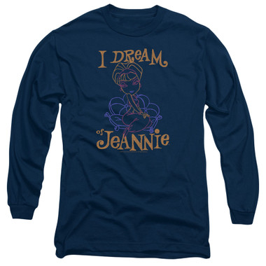 Image for I Dream of Jeannie Long Sleeve Shirt - Paint
