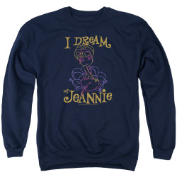 Image for I Dream of Jeannie Crewneck - Paint