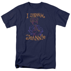 Image for I Dream of Jeannie T-Shirt - Paint