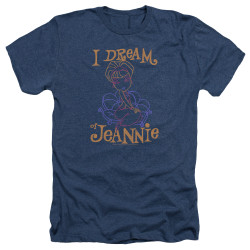 Image for I Dream of Jeannie Heather T-Shirt - Paint