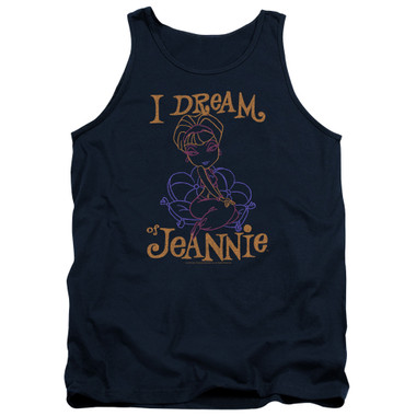 Image for I Dream of Jeannie Tank Top - Paint