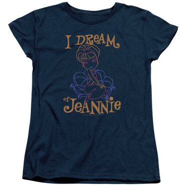 Image for I Dream of Jeannie Womans T-Shirt - Paint