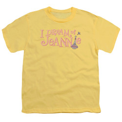 Image for I Dream of Jeannie Youth T-Shirt - Retro Logo