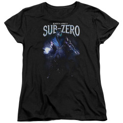 Image for Mortal Kombat Womans T-Shirt - Sub-Zero