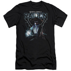 Image for Mortal Kombat Premium Canvas Premium Shirt - Raiden