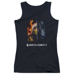 image for Mortal Kombat Girls Tank Top - Fire and Ice