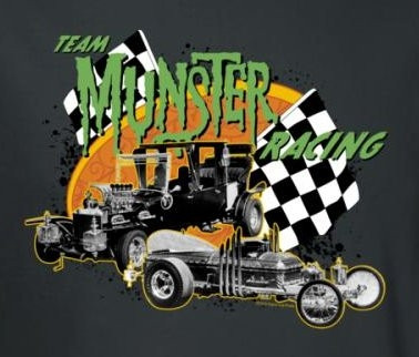 Image for The Munsters Team Munsters Racing T-Shirt