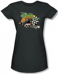 Image for The Munsters Team Munsters Racing Girls Shirt