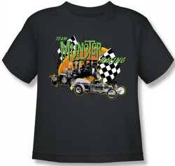 Image for The Munsters Team Munsters Racing Kids T-Shirt