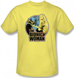 Image for The Bionic Woman Jamie and Maximillian T-Shirt