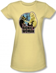 Image for The Bionic Woman Jamie and Maximillian Girls Shirt