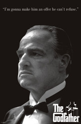 Image for The Godfather Poster - An Offer He Can't Refuse