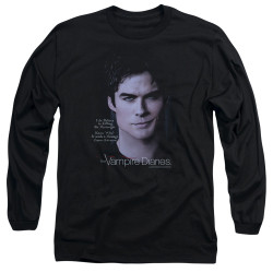 Image for Vampire Diaries Long Sleeve Shirt - Messenger