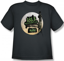 Image for The Munsters Moonlit Address Youth T-Shirt
