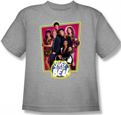 Image for Saved by the Bell Cast Youth T-Shirt