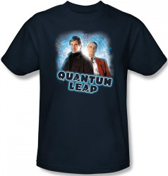Image Closeup for Quantum Leap Sam & Al T-Shirt