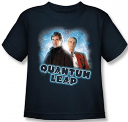 Image for Quantum Leap Sam & Al Kids T-Shirt