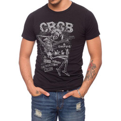 Image for CBGB Skeleton Guitar T-Shirt