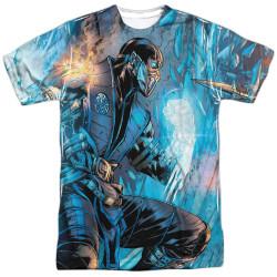 Image for Mortal Kombat Sublimated T-Shirt - Comic 100% Polyester