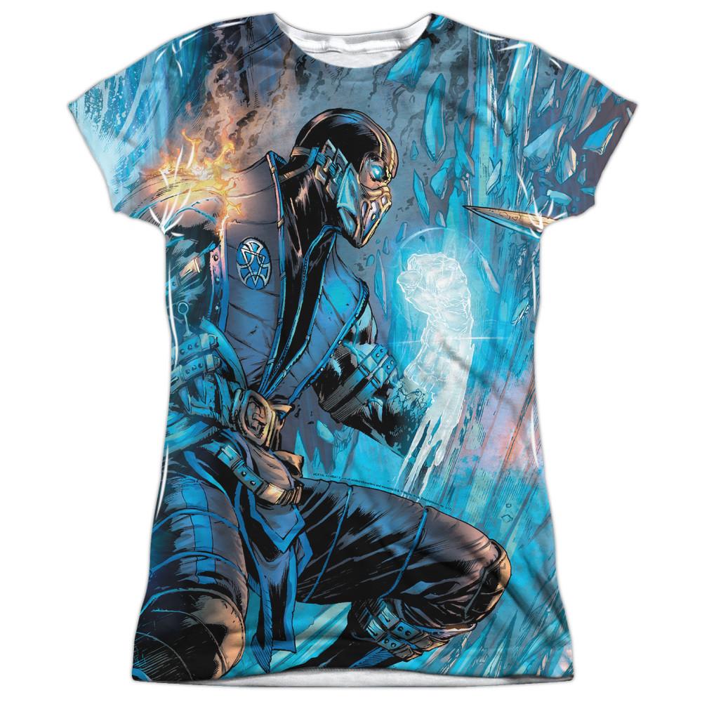 0c4d8a5e1 Mortal Kombat Girls Sublimated T-Shirt - Comic - NerdKungFu