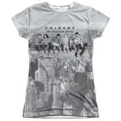 Image for Friends Girls Sublimated T-Shirt - Lunch Break