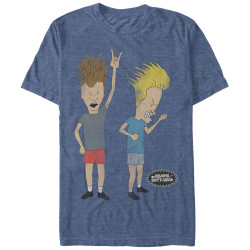 Image for Beavis and Butt-Head Rock Forever Premium T-Shirt