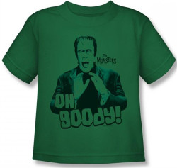 Image for The Munsters Oh Goody! Kids T-Shirt