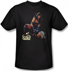 Image Closeup for Xena Warrior Princess In Control T-Shirt