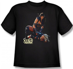 Image for Xena Warrior Princess In Control Youth T-Shirt