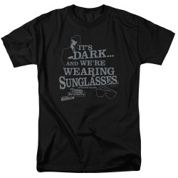 Image for The Blues Brothers T-Shirt - It's Dark and We're Wearing Sunglasses