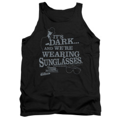 Image for The Blues Brothers Tank Top - It's Dark and We're Wearing Sunglasses