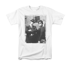Image for The Blues Brothers T-Shirt - Brick Wall